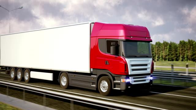 Logistics - Trucking video