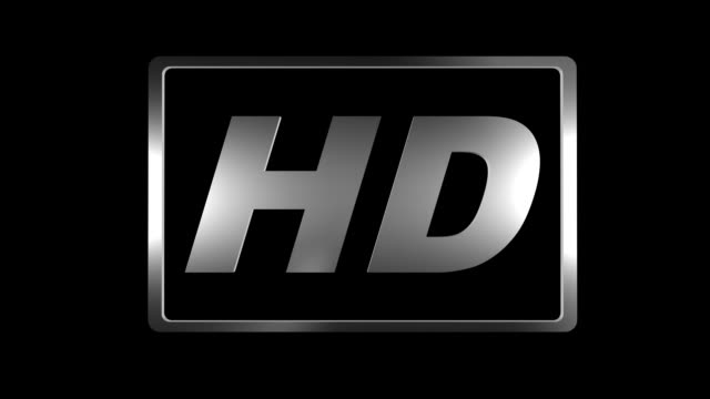 HD Logo with alpha channel video