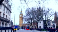 London Big Ben and bus video