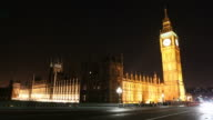 London: Big Ben And Houses Of Parliament video