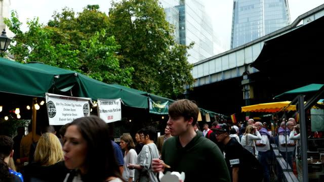 TU London Borough Outdoor Market (4K/UHD to HD) video