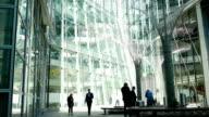 London Business People On A Break (4K/UHD to HD) video