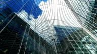 T/L London Canary Wharf Skyscrapers video