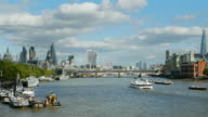 London City And Southwark Viewed From The West (UHD) video