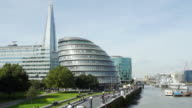 London City Hall And The Shard (UHD) video
