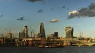 London City & Millenium Bridge video