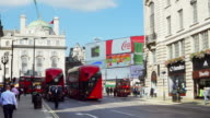 London Coventry Street And Piccadilly Circus (UHD) video