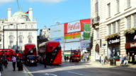 London Coventry Street And Piccadilly Circus video