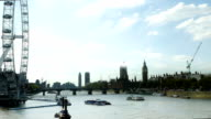 London Eye And The City Of Westmister (4K/UHD to HD) video