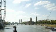 London Eye And The City Of Westmister (UHD) video