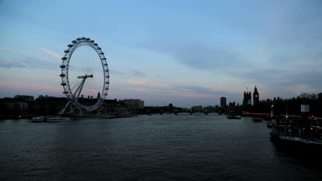 London Eye & Big Ben Timelapse video