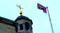 UK, London, flag video