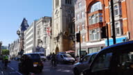 London Fleet Street And The Strand (UHD) video