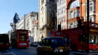 London Fleet Street And The Strand video