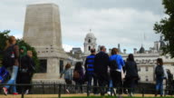 London Guards Division Memorial And Horse Guards Building (UHD) video
