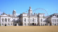 London Horse Guards Building And Parade Ground (UHD) video