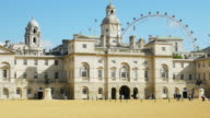 London Horse Guards Parade And Building (UHD) video