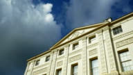 T/L London Kenwood House Against Cloudy Sky video