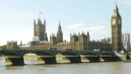 London Palace Of Westminster At Midday (UHD) video