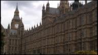 HD: London Parliament, Big Ben, Exterior & Traffic video