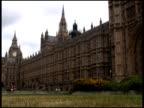London Parliament (Big Ben) Park & Traffic video