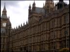 London Parliament (Big Ben) Traffic video
