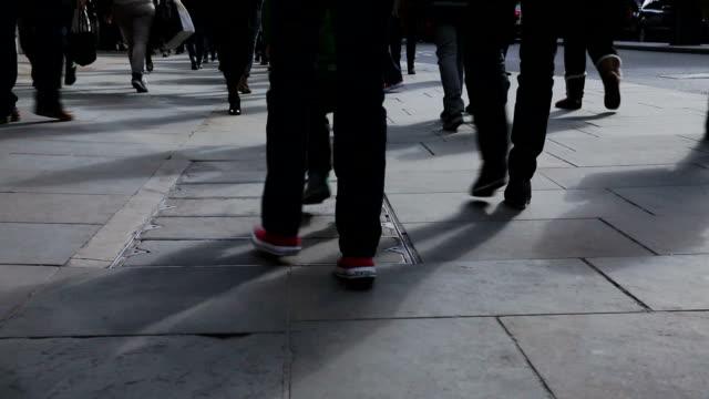 London regent street near Oxford circus video