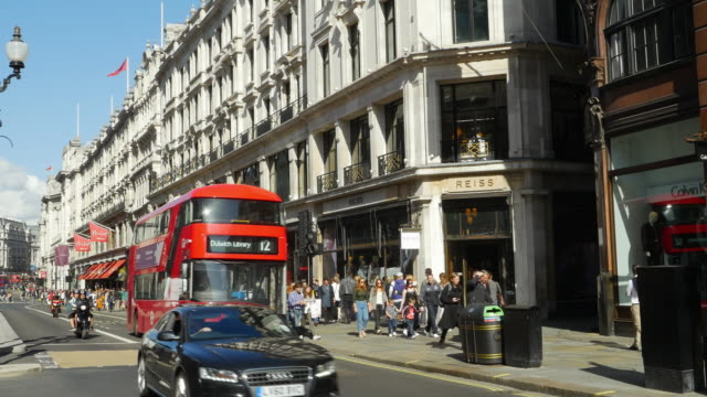 London Regent Street (UHD) video