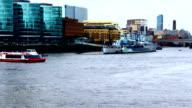 London, River Thames video