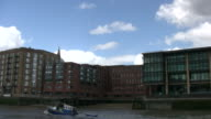 (HD1080i) London Riverside Architecture from Boat video
