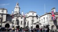 London Royal horse guards video
