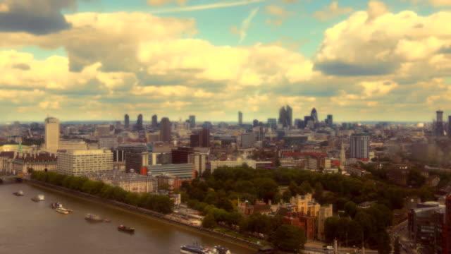 London Skyline Timelapse. HD, NTSC, PAL video