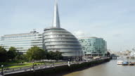 London Southwark With City Hall (UHD) video
