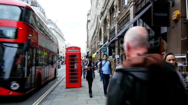 London Strand Road Scene (4K/UHD to HD) video