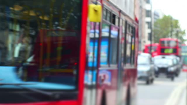 T/L London Street Scene (Defocused) video