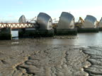 London: Thames River Barrier Flood Control, Push to Sea Birds video