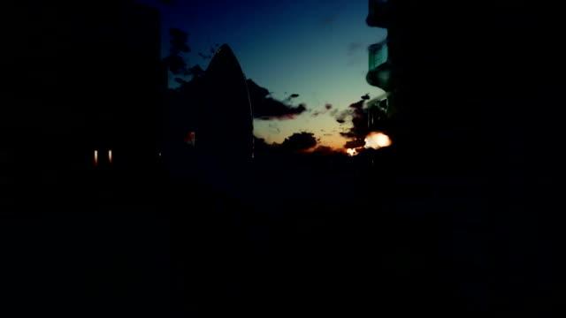 London timelapse sunrise, The Gherkin Swiss Reinsurance Headquarters video