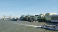 London Tower Bridge And Southwark From The West(UHD) video