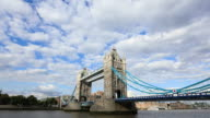 London Tower Bridge Timelapse HD Video video