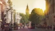London, Traffic on Trafalgar square video