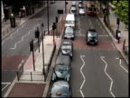London Traffic Turns - From Above video
