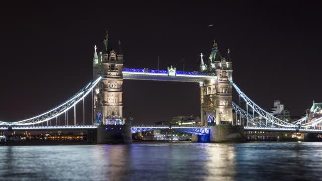 London, UK, Tower Bridge video