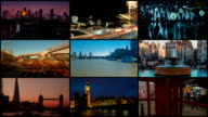 London Video Wall with Famous Landmarks video