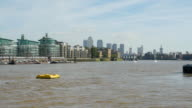 London Wapping and Canary Wharf (UHD) video