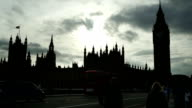 London Westmister Bridge And Houses Of Parliament (4K/UHD to HD) video