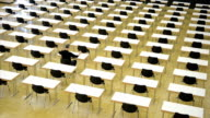 Loner in the examination room, Burn out, Time Lapse video