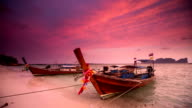 Long Boats - Thailand video