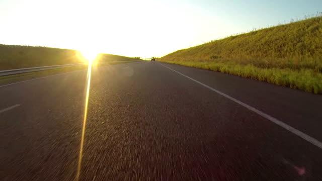 long empty road video