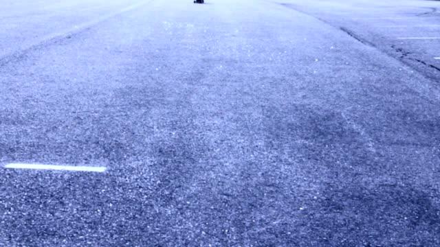 Longboard Skateboard Glides By video