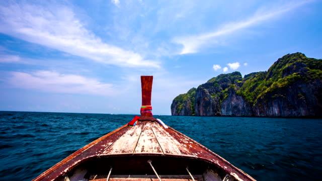 POV Longtail Boat video